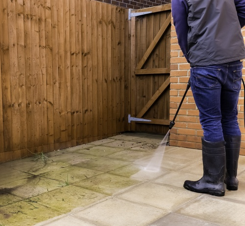 How to Clean a Concrete Patio